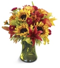 Glorious Fall Bouquet from Olney's Flowers of Rome in Rome, NY